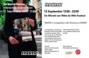 Sander Veenhof i.s.m Showroom MAMA